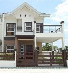 50 Best Inspiring Small Two Story House Design Ideas In 2020 Philippines House Design 2 Storey House Design Two Story House Design
