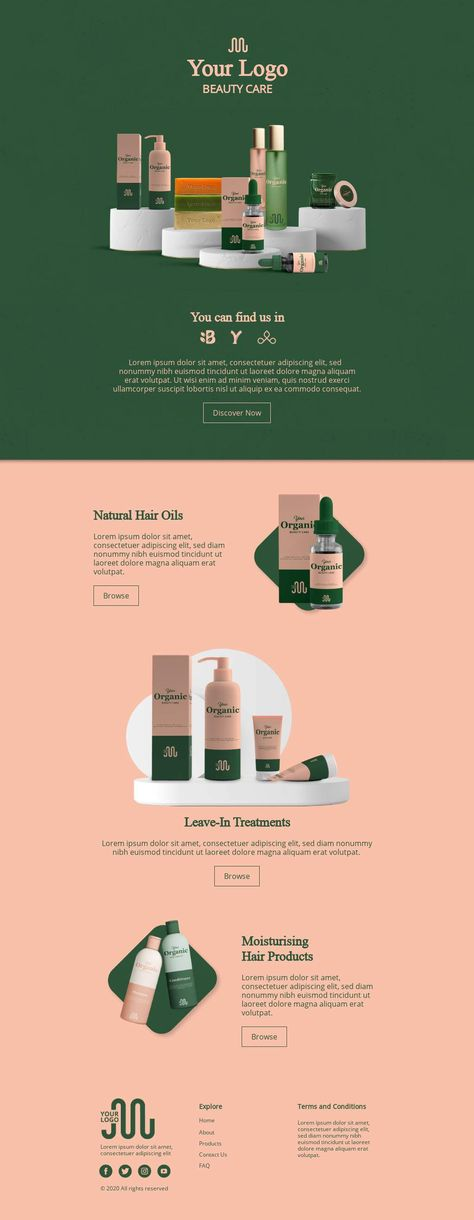 Product Launch Email Set by BEE