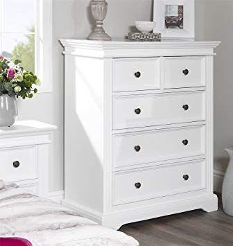 White Chest Of Drawers White Chest Of Drawers Childrens Bedroom Furniture Furniture
