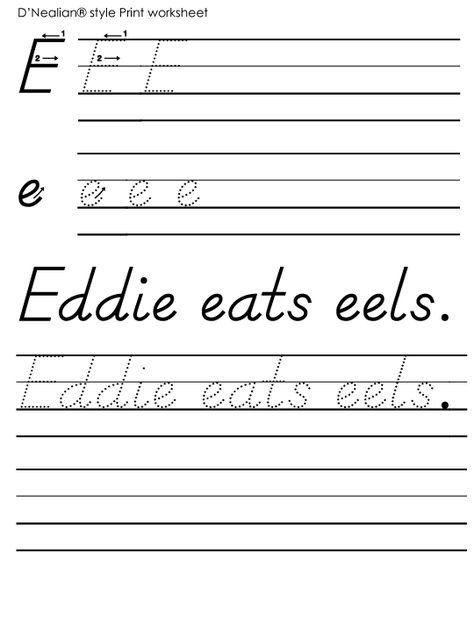 Pin On Handwriting Practice Worksheets