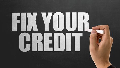"How to ""Fix"" a Bad Credit Score"