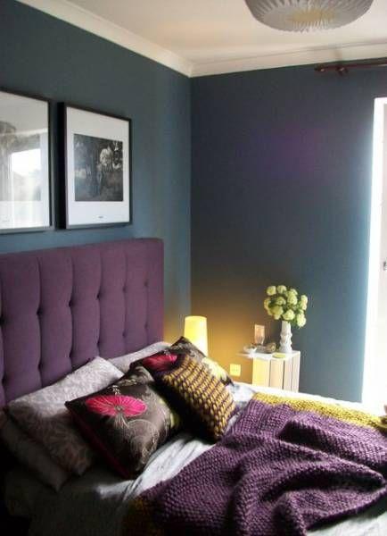 41 Ideas Bedroom Makeover Purple Headboards Purple Headboard