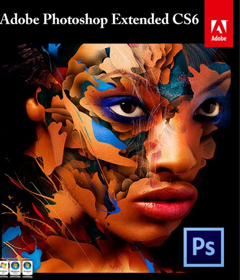 Photoshop CS6 Extended Student And Teacher Edition 64 bit