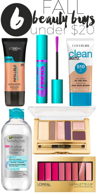6 Fall Beauty Buys Under $20.