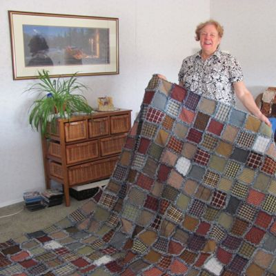 How to Make a Rag Quilt - Rag Quilt Basic Instructions Wash and ... : rag quilt squares - Adamdwight.com