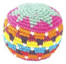 How to crochet a hacky sack