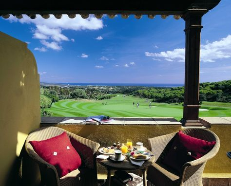 Almenara Hotel is grand Andaluician style hotel located on top of the Sotogrande Hills, this resort offers a fantastic array of good quality golf courses to play including 27 holes on-site. This well appointed hotel provides a more relaxed ambience than the core of the Costa Del Sol http://goo.gl/7HvRBu