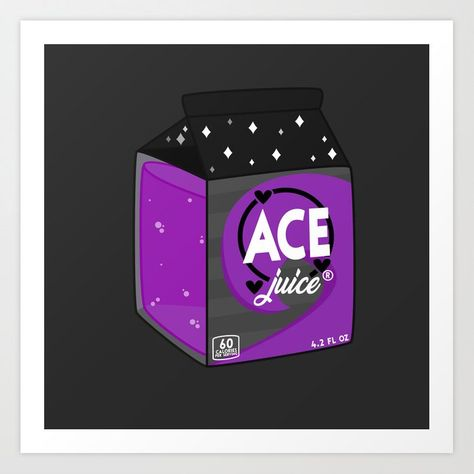 Buy Ace Juice Art Print by rexuality. Worldwide shipping available at Society6.com. Just one of millions of high quality products available.
