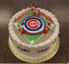 Brilliant Chicago Cubs Baseball Cake Cubs Cake Amazing Cakes Cake Funny Birthday Cards Online Ioscodamsfinfo