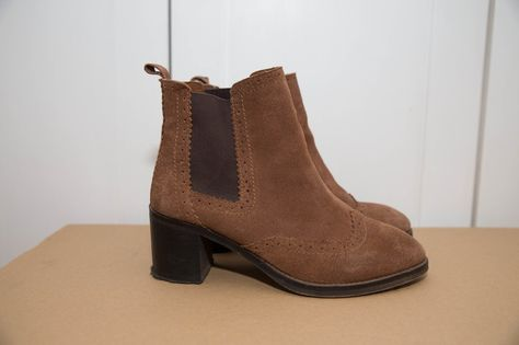 d79e375cc Originally £59.95 and now 29£ #boots #suedeboots #ankleboots #tanboots  #sustainablefashion Click for more or download the Vinted app!