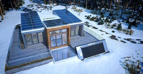 How Do Solar Panels Work In Winter In 2020 Solar Panels Green House Design Solar House