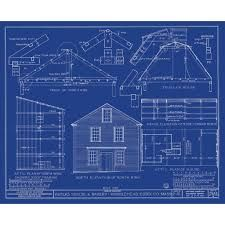 Complete house plans blueprints construction documents from sdscad this is a blueprint of the exterior of a home i want to do something malvernweather Gallery