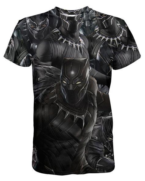 Black Panther T-shirt - M / Black