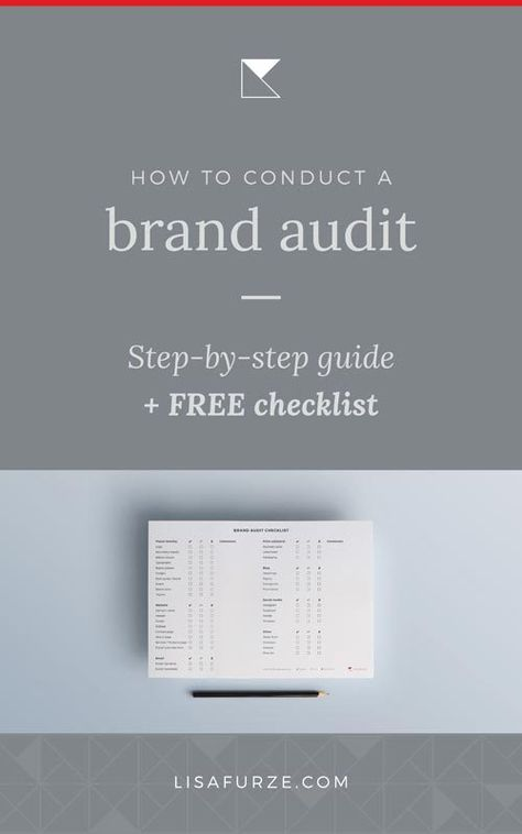 Reviewing your brand: How to conduct a brand audit yourself | Lisa Furze