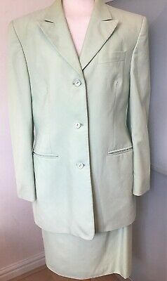 Austin Reed Suit Jacket Skirt Size 12 M Lined Mint Green Fashion Clothing Shoes Accessories Womensclo Suit Jackets For Women Animal Print Blazer Jackets