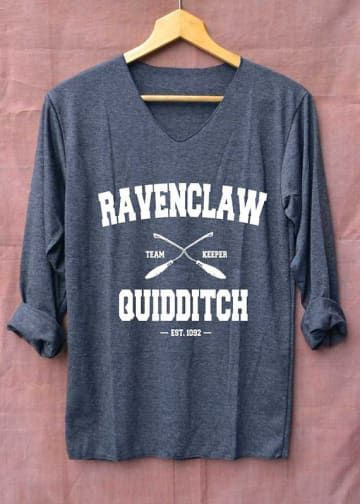 Harry Potter Quidditch Captain L Camiseta Hombre
