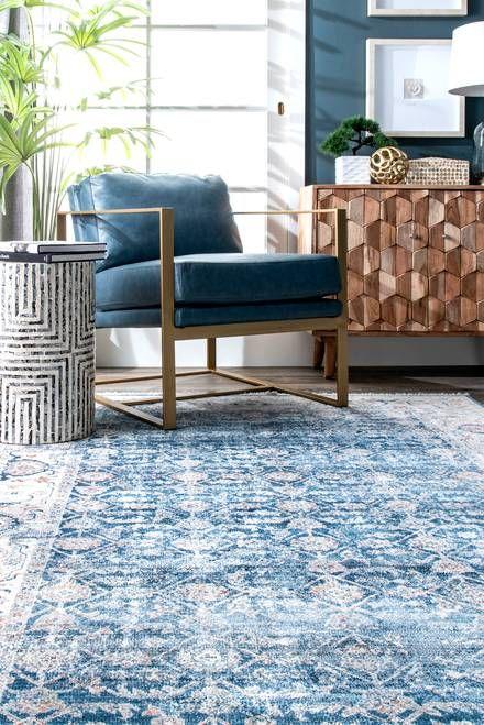 Edessa Faded Persian Blue Rug Persian Carpet Living Room Persian Rug Living Room Blue Oriental Rug