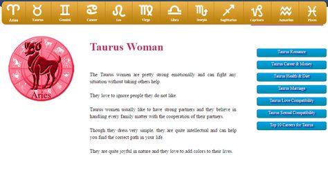 List of Pinterest horoscope taurus compatibility images