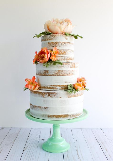 This simple Confection Deception naked cake is the prop that has endless possibilities. Whether your a party planner or you just dont want to bake a cake this year, weve got you covered! The cakes are made to order, just as you request. Each one will be unique and may not look