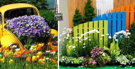 Deco Jardin Avec Recuperation Decorer Jardin Avec Recup Astuce