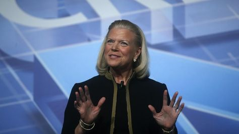 """They used to say: """"You never get fired for buying IBM"""". Now, increasingly it is: """"No one gets fired for buying Amazon."""" This should send a chill down Big Blue's spine."""