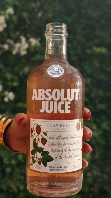 Absolut Juice - Strawberry