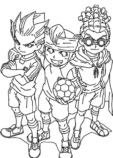 Drawings To Print Inazuma Eleven 2 With Images
