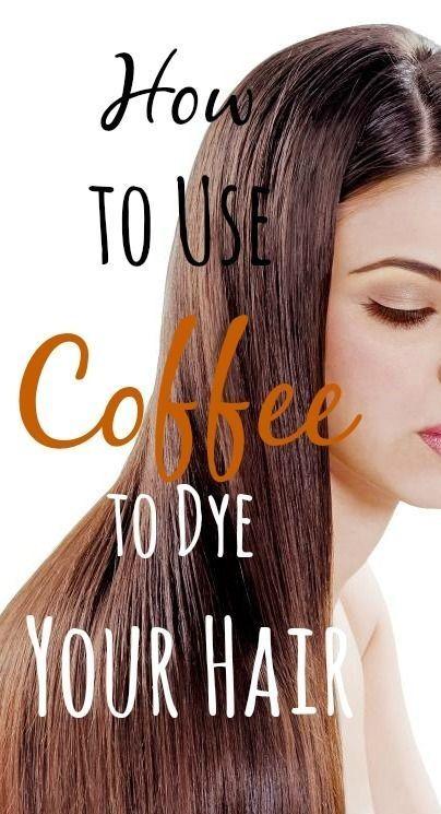Kaffee mit haare färben Graue Haare