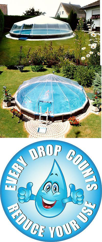 Details About Round Hard Sided Swimming Pool Cover Fabrico