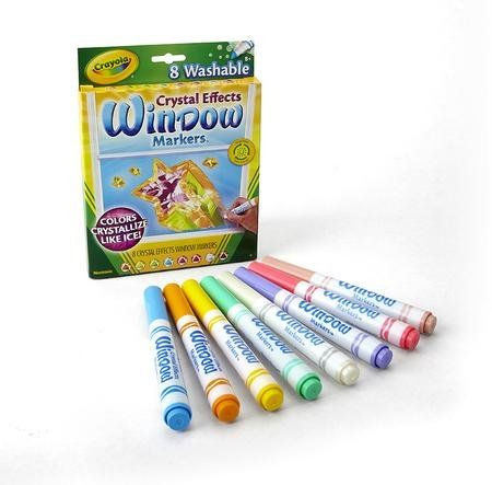 5 Crayola Crystal Effects Window Markers 8 Pieces Window Markers Crayola Window Markers Crayola