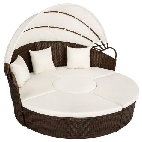 mobel chaise longue en aluminium bain