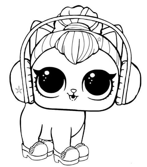Malvorlagen Zum Ausdrucken Lol Pets Kitty Kitty Lol Expressions Lol Dolls Ausdrucken Dolls Malvorlagen Tiere Ausmalbilder Lustige Malvorlagen