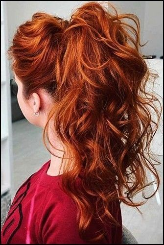 10 Interessante Pferdeschwanz Frisuren Fur Frauen Trend Bob Frisuren 2019 In 2020 Long Hair Styles Redhead Hairstyles Hair Styles