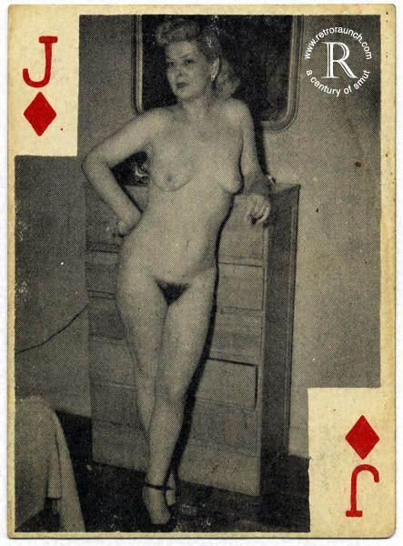 игральные карты порнографические