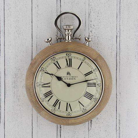 London Stopwatch Wall Clock Cream Wall Clocks Attic Design