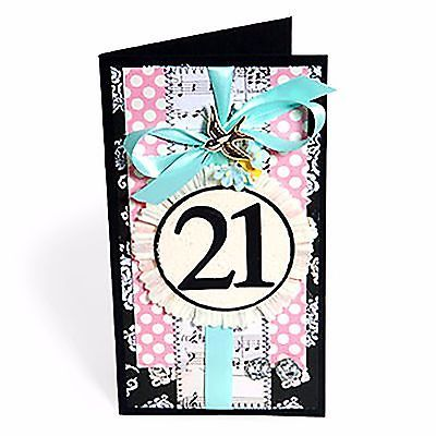 Sizzix Bigz Serif Essential Numbers 2-die #656616 MSRP $39.99 designer EL Smith