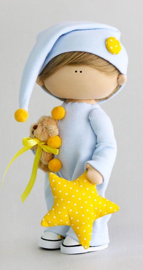 Doll Crafts, Diy Doll, Diy Rag Dolls, Sewing Dolls, Sewing Kit, Doll Tutorial, Child Doll, Fairy Dolls, Soft Dolls