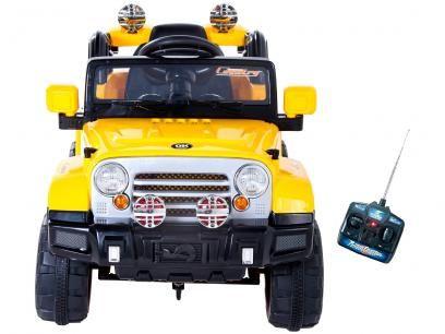 Mini Jipe Trilha Infantil Eletrico Com Controle Remoto Emite