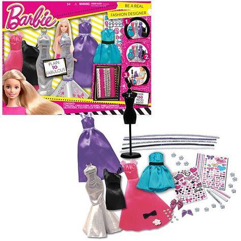 Barbie Be A Real Fashion Designer Set Fashion Design Design