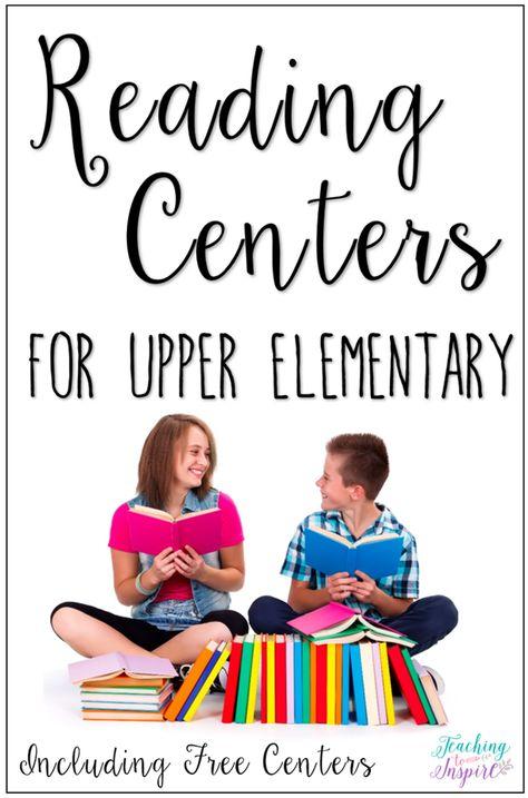 Reading Centers for Upper Elementary