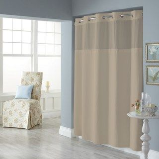 Dobby Pique Mystery Hookless Fabric Shower Curtain Kohls With