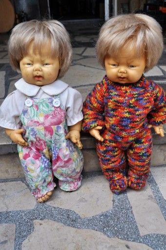 Stara Zabawka Lalka Prl 19 7431099809 Oficjalne Archiwum Allegro Baby Face Baby