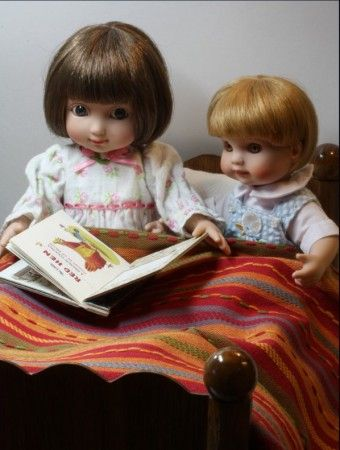 About Ann Estelle and Kerry: The Little Red Hen is Kerrys favorite book. Ann loves it as well and is always pleased when Kerry picks that story to be read at bedtime.