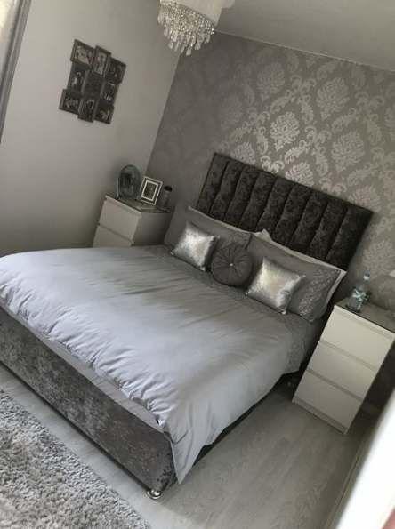 Bedroom Wallpaper Ideas Grey Beds 49 Ideas For 2019 Interery Spalni Roskoshnye Spalni Idei Ukrasheniya Spalni