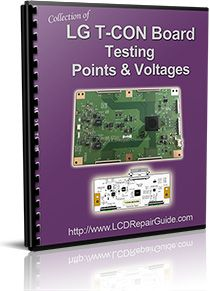 lg t con board testing point \u0026 voltages proyek untuk vgh vgl vcom tcon board voltages