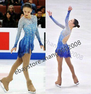 Ice Figure Skating Dress //Rhythmic Gymnastics //Twirling Competition//Tap Costume