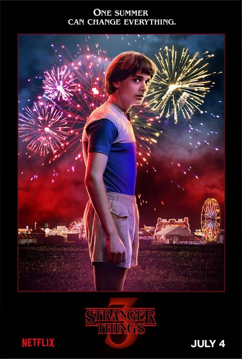 'Stranger Things 3' debuts new character posters and scene from the premiere