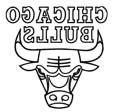Chicago Bulls Coloring Pages Chicago Bulls Chicago Bulls Logo
