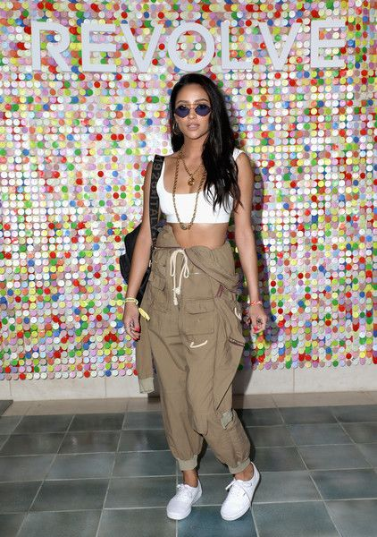 Shay Mitchell - The Celeb Queens Of Coachella 2018 - Photos