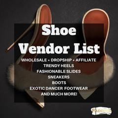 Shoe Vendor List - Default Title